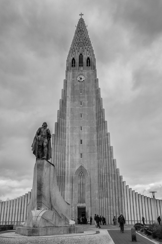 Manfred Klein -- Kathedrale - Reykjavik