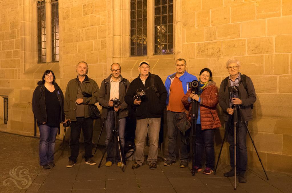 Gruppenbild vor Basilika St. Wendel